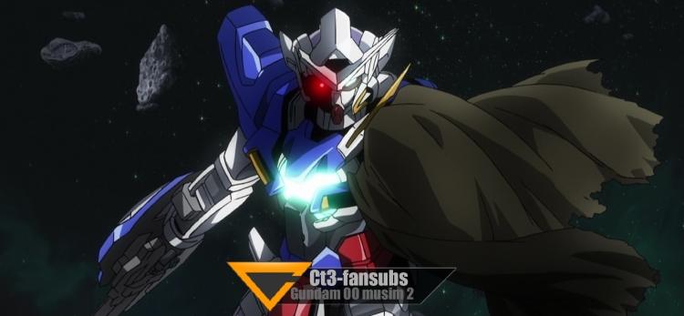 Gundam 00 s2 BD ep01 – Kebangkitan Semula Malaikat