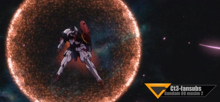 Gundam 00 s2 BD ep10 – Cahaya Syurga